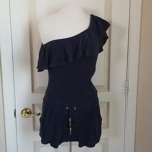 Juicy Couture One Shoulder Romper